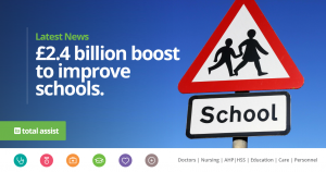 £2.4 Billion Boost to Improve Schools