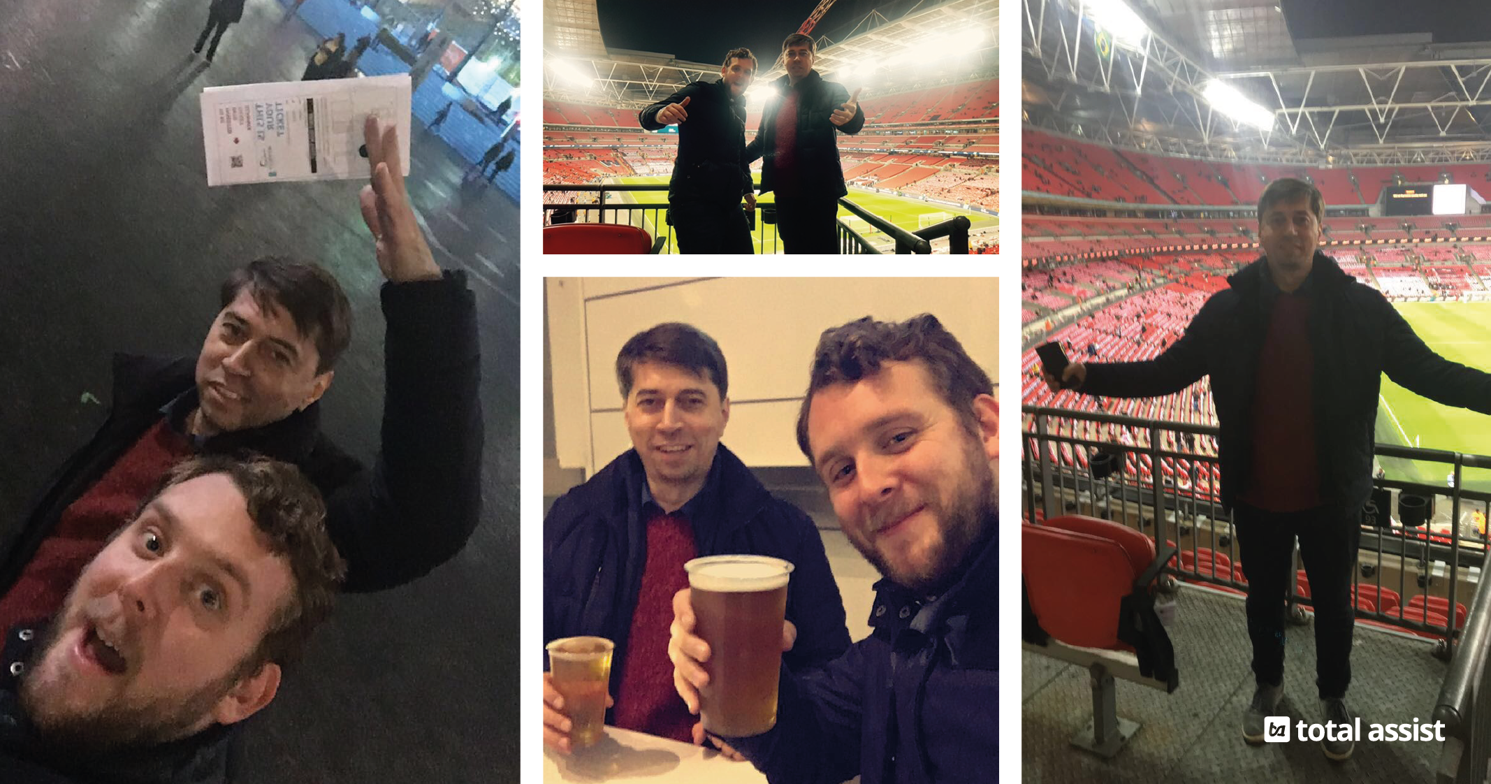 A Night at Wembley – Total Assist Prize Draw Winner