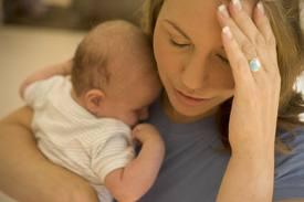 postnatal depression image