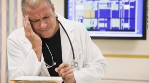 sick doctor